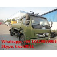 Dongfeng duolika 6cbm-8cbm water truck (CLW5092GSS3), high quality  best price stainless steel  water tank for sale Manufactures