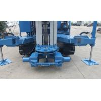 Quality 7000 MM Stroke Anchor Drilling Machine 25 T Pull Capacity 1.5 Ton Winch for sale