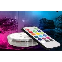 China Mini Event / Home / KTV Decorative Submersible LED Lights With Remote Control on sale