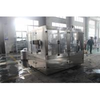 China High Speed Automatic Juice Producing Pet Bottling Rinsing Filling Capping Machine Line / Plant on sale