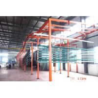 China Aluminium Profiles Automatic Powder Coating Line With Drying Oven And Curing Oven on sale
