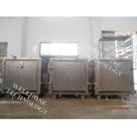 Thermal Oil Heating Vacuum Tray Dryer 50 - 100 ℃ Drying Temperature Manufactures