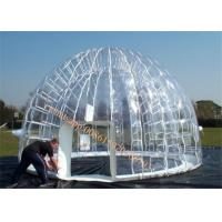 advertising inflatable clear dome tent / inflatable tent price Manufactures