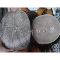 China Gray Indian Human Hair Toupee for Men (DO049) on sale