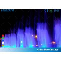 Various Single Color And RGB Color Fountain LED Light Stainless Steel Material 2 Years Warranty Manufactures