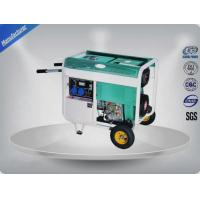 2 Pole 3 Phase Portable Generator Four Line 5.5 -6.3 Kva Four - Stroke Engine Manufactures