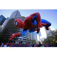 Spiderman Flying Giant Advertising Balloons , Event Giant Advertising Inflatables Manufactures