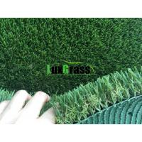 3D W shape UV Resistant  Artificial Turf / Synthetic Grass Leisure Kids Garden use grass Manufactures