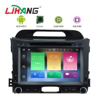 KIA Sportage 8.0 Android Car DVD Player With GPS Stereo Radios Maps Manufactures