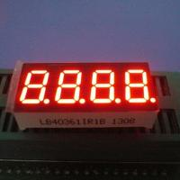 Stable Performance 0.36lnch Supe bright red 4 Digit 7 Segment Led Display For Humidity Indicator Manufactures