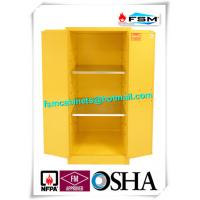 Industrial Safety Storage Cabinets With Ventilation Hole For Combustible Drums Manufactures