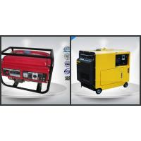 10-12 Kva Open Portable Gasoline Generator Set Silent With Electric Starter Manufactures