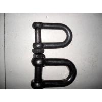 Durable Rigging Hardware Trawling Chain Shackle With Square Head Screw Pin Manufactures