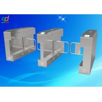 Uhf Electronic Security Flap Barrier Turnstile Pedestrian Barrier Gate Manufactures