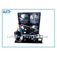 Water Cooling Refrigeration Condensing Units , Horizontal cold room condensing unit Black R22  4-30HP Manufactures