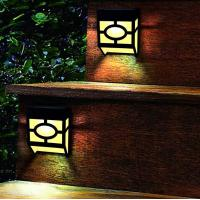 Warm White Solar Outdoor Wall Lights 2 Modes For Front Door , Stair , Landscape Manufactures