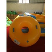 Quality 1 Meter In Diameter Yellow Inflatable Ski Sleigh For Adults And Children Snow for sale