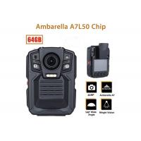 Remote Control Security Body Camera Ip67 Water Proof With 1296P IR LED Light Manufactures