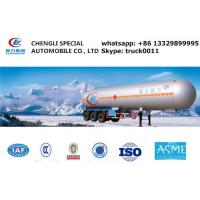 23560kgs liquid ammonia gas trailer for sale, hot sale ammonia tank trailer, 23.5tons bulk lpg gas tank trailer Manufactures