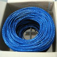 Communication best price cat5e network cable cat5e utp solid 4p 24awg lan cable Manufactures