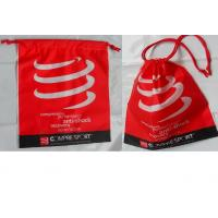 Quality Customized Women's favorite / convenie nce / festive red / drawstring plastic bags  for gifts / clothing, clothes. for sale