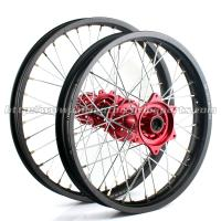 Honda Custom Billet Motorcycle Wheels Set With 304 Stainless Steel Spoke Material Manufactures