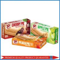 Quality Food Grade Customized Color Print Fruit Pie Apple Paper Packaging Box for sale