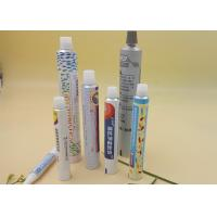 25g Flexible Printed Tube Packaging 100% Recyclable Custom Length / Logo Manufactures