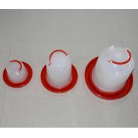 Quality Poultry Product White Plastic Baby Chicken Waterer & Day Old Chicken Drinker for for sale