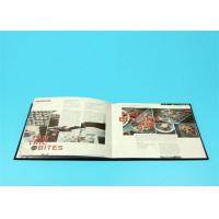 400gsm Hardcover Book Printing For Catalogue / Brochure / Magazine Manufactures