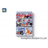 Spiral Binding 3D Lenticular Personalised Stationery Notebooks Cartoon Pet Hardcover Manufactures