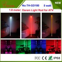 5 watt 6 inch Osram multi color whit it light rod LED whip for for ATV, Buggy, Rhino, RZR Manufactures