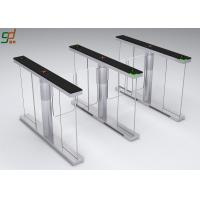 Tempered Glass Baffles security barriers and gates 8  Pairs IR Sensor Manufactures