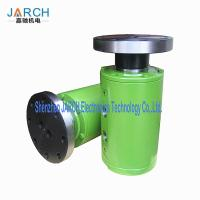 China Ss304 Stainless Steel with round Head Code Multiple Passages Flange connection Hydraulic Rotary Union on sale