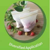 Compostable bioplastic Recyclable Customize invisible flower sleeve/ flower packaging ziplock bag Manufactures