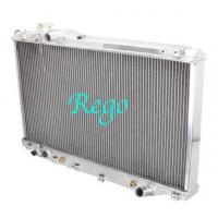 Toyota Supra High Efficiency Aluminium Car Radiators , Universal Fit Aluminium Radiator Manufactures