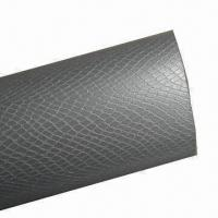 3-D Texture Vinyl Film/Wrap with Air-free Bubble and Silver Color Snake Skin Manufactures