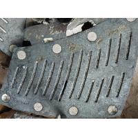 Buy cheap Schlitzplatte FMU29 Alloy Steel Castings φ3M HRC52 For Mine Mill from wholesalers