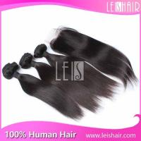 Wholesale high quality natural straight virgin malaysian human hair Manufactures