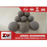 Forged and high cr cast grinding ball for ball mill used in mining Manufactures