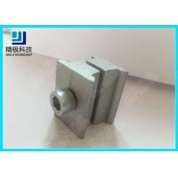 AL-6B Aluminum Tubing Joints Silvery Double Connector Warehouse Rack Application Manufactures
