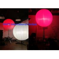 High Bright Inflatable Holiday Decorations With Stainless Tripod And DMX Controler Manufactures