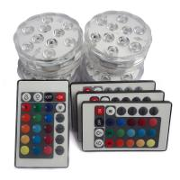 RGB Sensor Night Light Motion Activated , Submersible Led Lights For Centerpieces Manufactures
