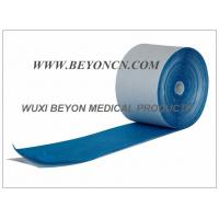 Breathable Blue Cohesive Foam Bandages For Ankles Wrists Hands Protection Manufactures