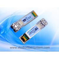 China dual 850nm 10G SFP+ Optical Transceiver module ,VCSEL,OM3 MMF 300m on sale