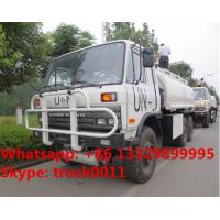 Quality Factory sale Bottom price dongfeng 6x6 fuel truck tanker for sale, HOT SALE! UN for sale