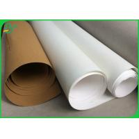 Eco Friendly Washable Kraft Paper Roll 0.55MM Thickness For Making Flower Pot Manufactures
