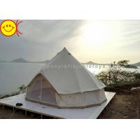 Outdoor Inflatable Tent Waterproof Cotton Canvas Family Camping Bell Tent Indian Teepee Tent Manufactures