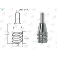 Small Brass Cable Gripper Chrome Finish Color For Use Of Ø 0.8 ~1.2 Mm Wire Manufactures