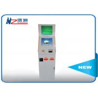 RFID card self service library kiosk with Windows system , library self checkout kiosk Manufactures